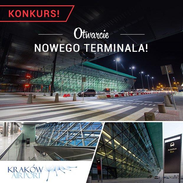 Nowy terminal Kraków Airport
