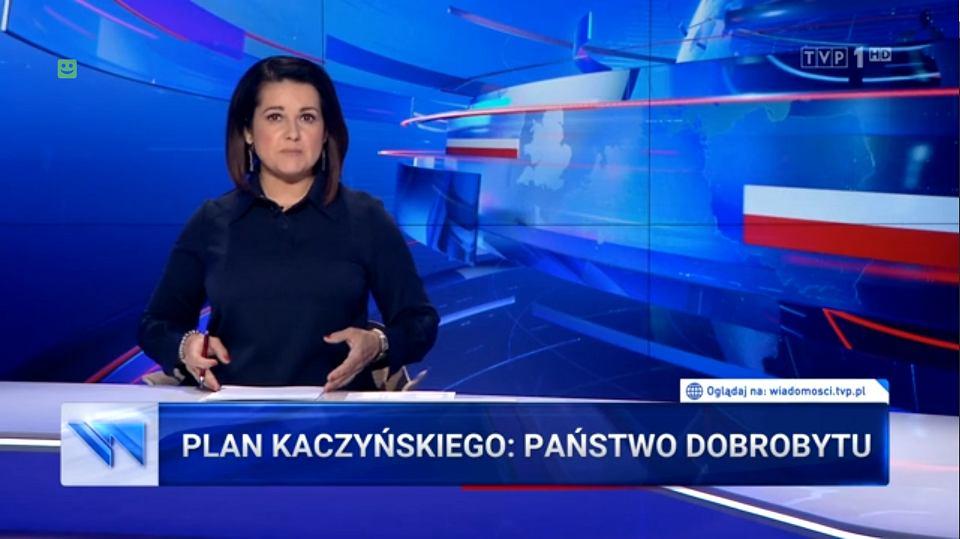 'Wiadomości' TVP , 22.09.2019