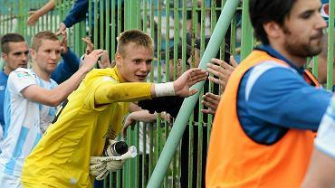 Olsztyn. Stomil - GKS Katowice 0:0. W bramce Michał Leszczyński