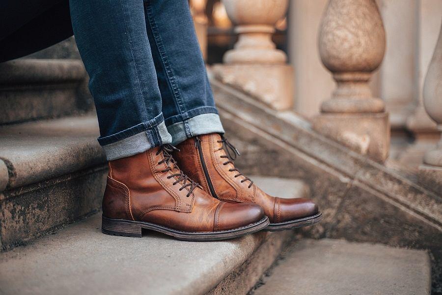 Męskie obuwie na jesień