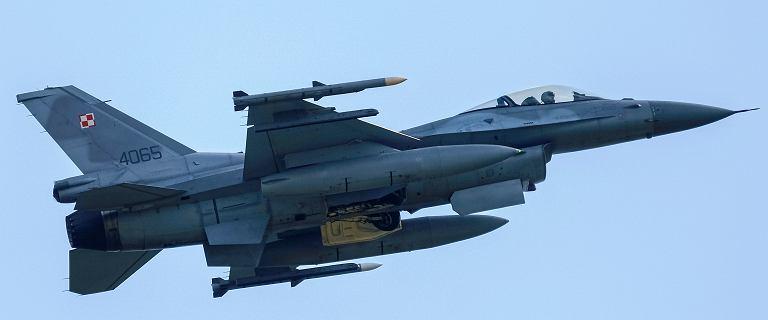 Na posesję w Luboniu spadł z nieba metalowy przedmiot. To część F-16