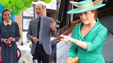 Księżna Kate i książę William, Sarah Ferguson