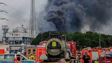 Niemcy. Wielka eksplozja w zakładach chemicznych. Dwie osoby zginęły, 31 zostało rannych