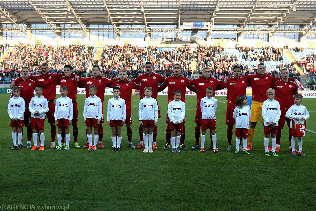 Polska U-21 - Izrael U-21 3:1 w meczu towarzyskim w Lublinie
