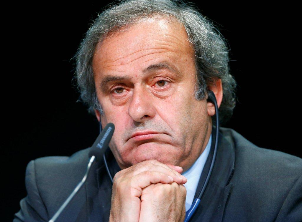 Michel Platini rezygnuje z kierowania UEFA