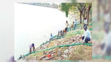 Mieszkańcy wysuszyli jezioro, w którym utonęła nosicielka HIV