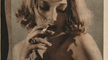 Ina Benita na okładce magazynu 'Kino' (nr 50, 1937 r.)