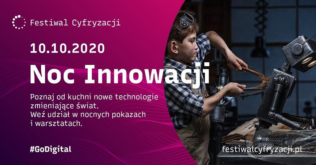 Noc Innowacji w ramach Festiwalu Cyfryzacji