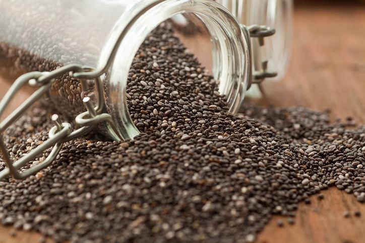 Nasiona chia to nie tylko dużo kwasów omega-3