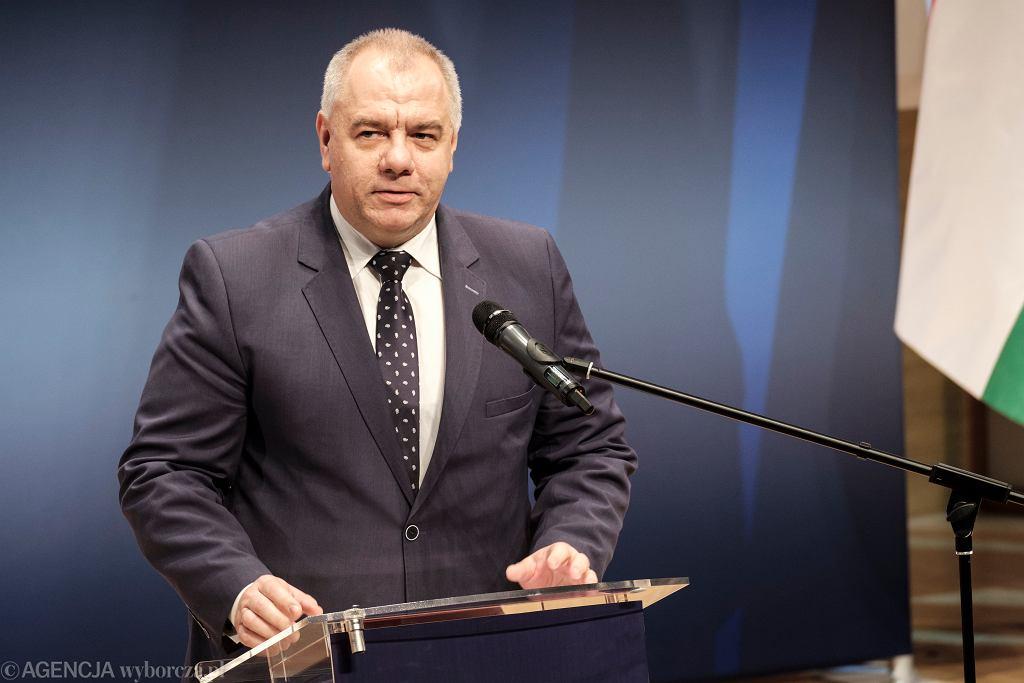 Jacek Sasin o sprawie SKOK-u Wołomin
