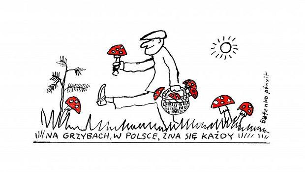 Bohdan Butenko rysunek