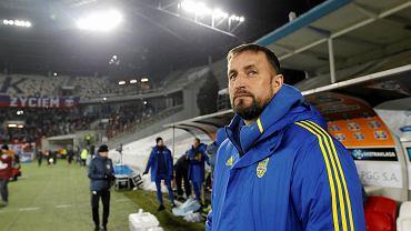 Trener Arki Zbigniew Smółka