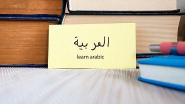 Zwroty po arabsku. Zdjęcie ilustracyjne