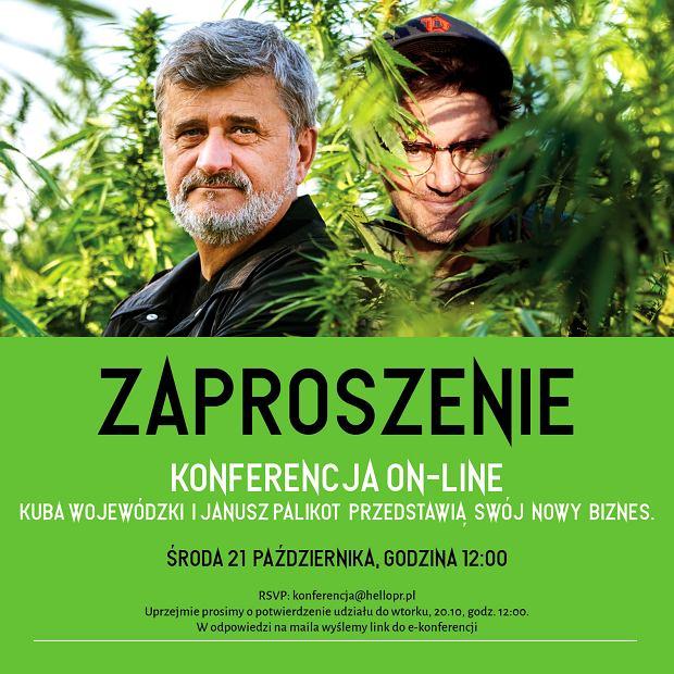 Kuba Wojewódzki i Janusz Palikot zaczynają wspólny biznes