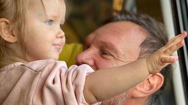 Cezary Pazura z córką Ritą