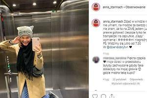 """Ania Starmach pokazała urocze zdjęcie z dzieckiem: """"Po12 godzinach w pracy, 4 godzinach w podróży, kwadransie biegu z dworca"""""""