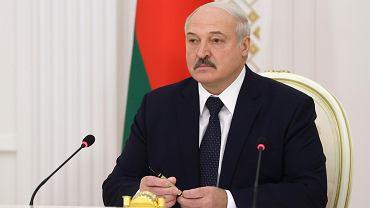 Aleksander Łukaszenka, 21 października 2020 r.