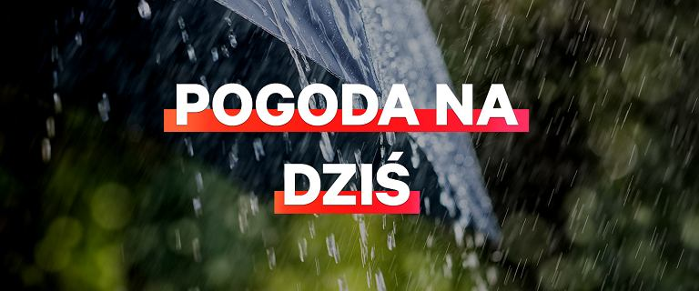 Pogoda na dziś - środa 13 listopada. Dziś niemal wszędzie będzie padać
