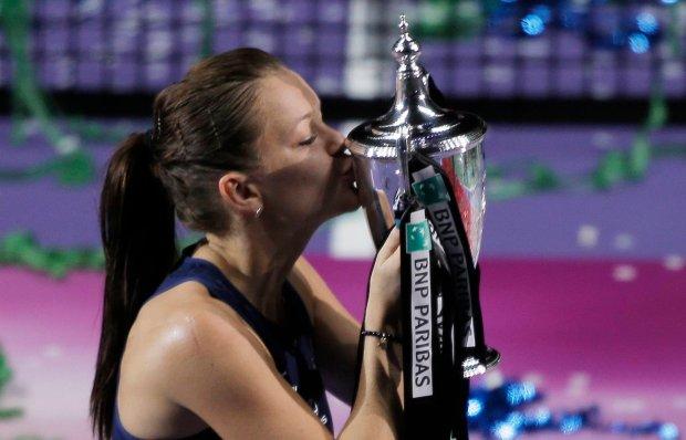 Zdjęcie numer 0 w galerii - Triumf Agnieszki Radwańskiej w turnieju Masters w Singapurze!