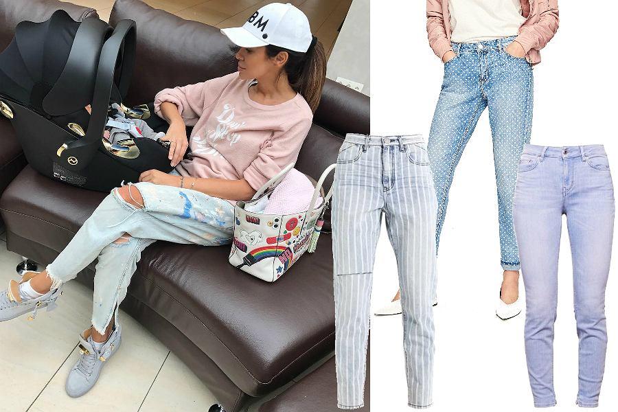 Przegląd jeansów w stylu gwiazd / Natalia Siwiec