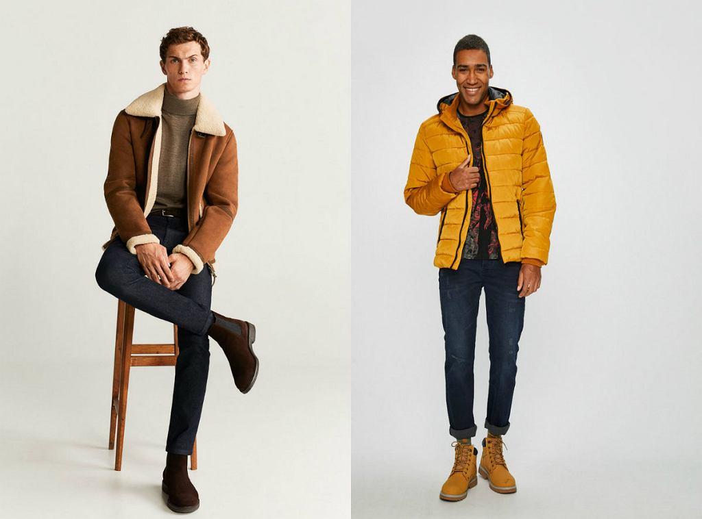 Modne kurtki zimowe 2020 męskie