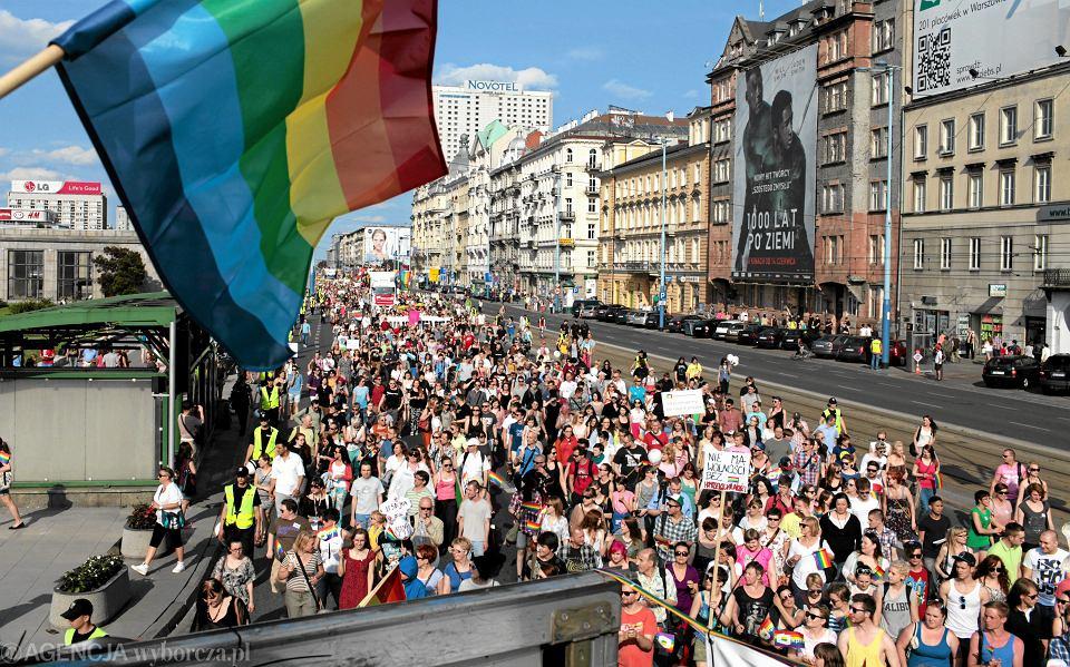 Zdjęcie numer 1 w galerii - Parada Równości wyruszy spod Pałacu Kultury. Ogłoszono trasę