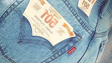 Levi's 501 Skinny na Instagramie