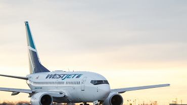 Samolot linii WestJet