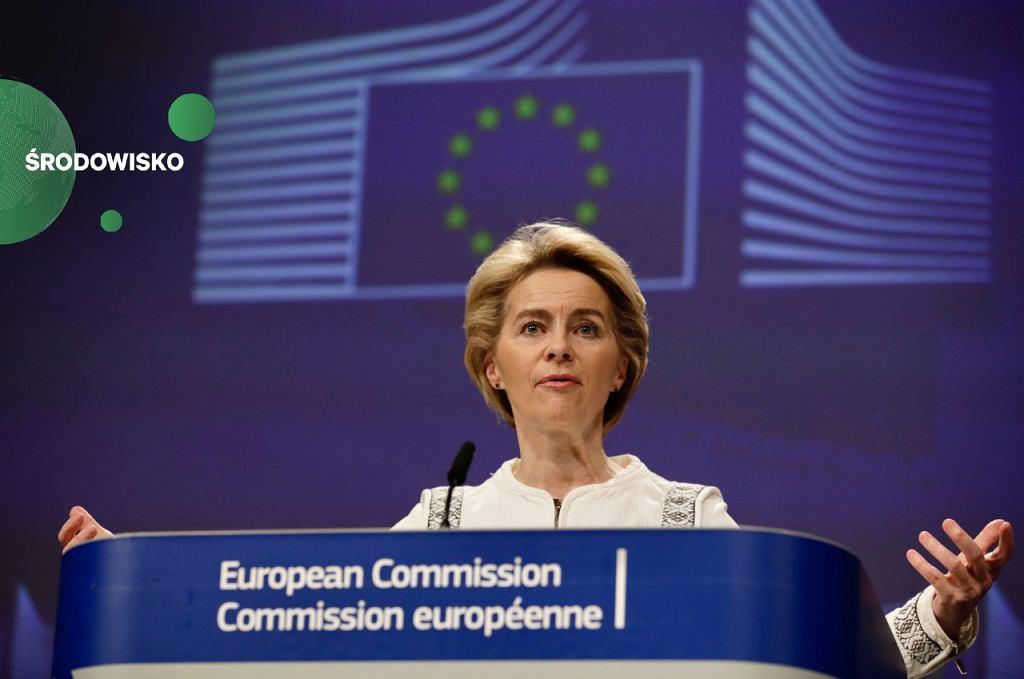 Komisja Europejska zapowiada 100 mld euro na fundusz sprawiedliwej transformacji