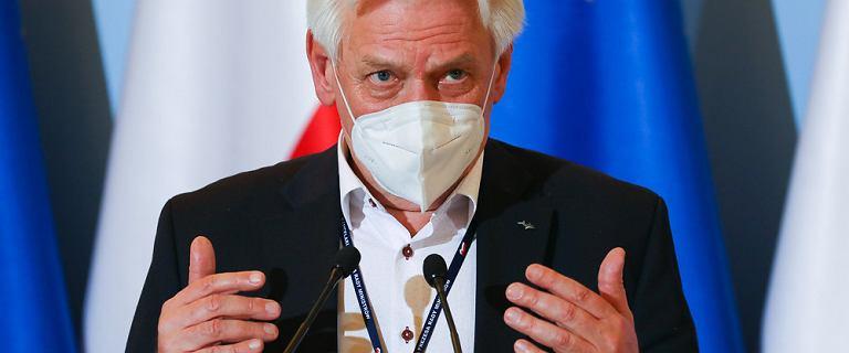 Prof. Andrzej Horban o epidemii koronawirusa: Ten tydzień jest decydujący