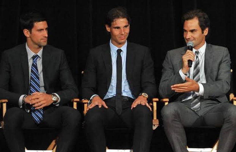'Wielka Trójka' męskiego tenisa