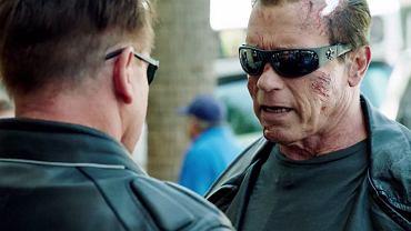 Kadr z promocyjnego filmu ze Schwarzeneggerem w roli głównej