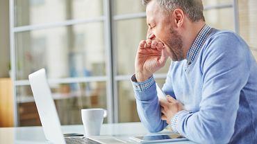 Senność: zmęczenie w pracy