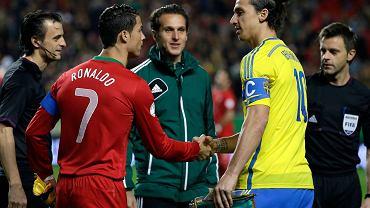 Cristiano Ronaldo i Zlatan Ibrahimović