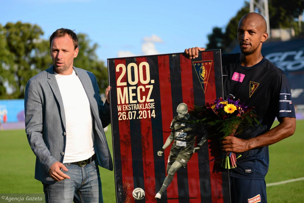 Hernani niedawno rozegrał 200. mecz w polskiej ekstraklasie