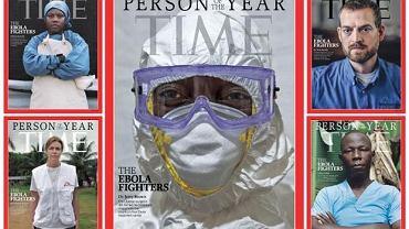 Okładki ''Time'a'' z laureatami