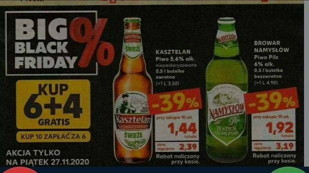 W piątek Kaufland rozdaje piwa za darmo