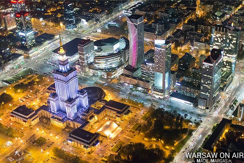 Zdjęcie numer 21 w galerii - Warszawa z lotu ptaka. Niesamowite zdjęcia Macieja Margasa [FOTO/WIDEO]