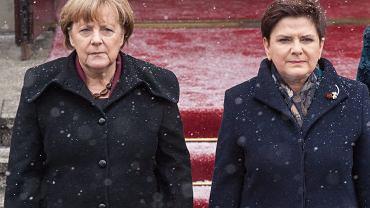 Angela Merkel i Beata Szydło, luty 2017 r.
