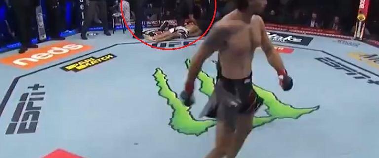 Booom! 14 sekundowa masakra w UFC. Sędzia nie zdążył przed ciosem [WIDEO]
