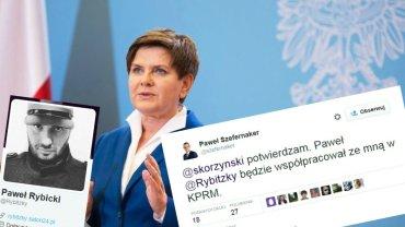 Paweł Rybicki będzie pracował w Kancelarii Premier Beaty Szydło