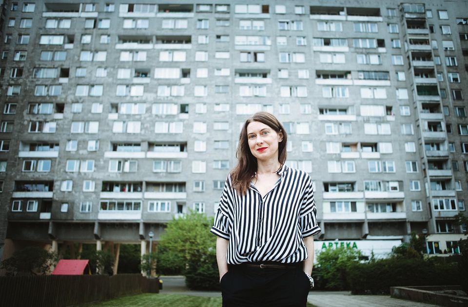 Beata Chomątowska, jedna z nominowanych do Nagrody Literackiej Gdynia 2019