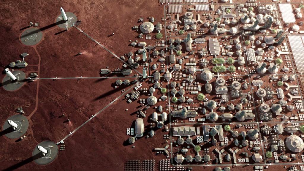 Tak ma wyglądać marsjańska kolonia