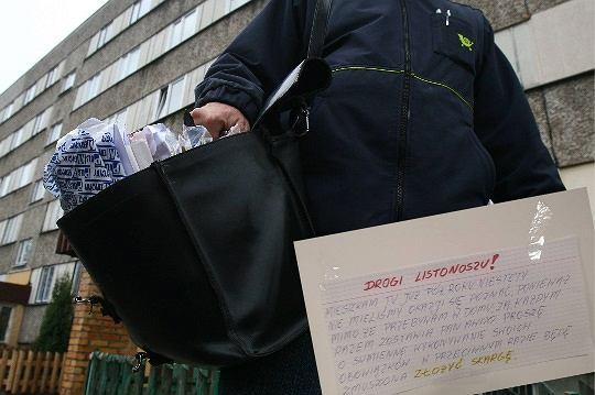 Mieszkańcy z Białołęki szukają listonosza
