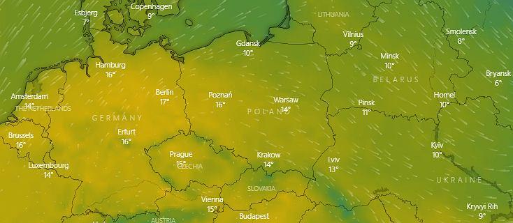 Pogoda: w tym tygodniu nad Polskę napłynie ciepłe powietrze znad Hiszpanii