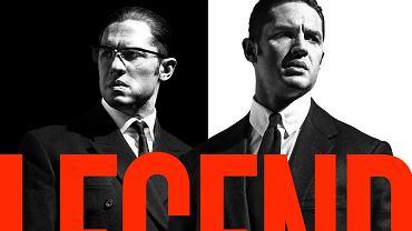 """Tom Hardy na plakacie do filmu """"Legend"""", gdzie zagra braci Kray"""