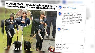 Meghan Markle krytykowana przez fanów