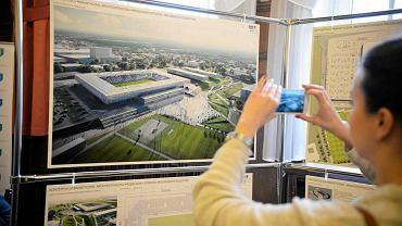 Ogłoszenie wyników na stadion miejski w Olsztynie