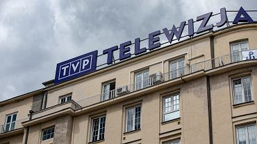 Warszawa, siedziba TVP.