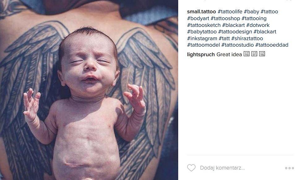 Rodzice Robią Sobie Tatuaże Z Okazji Narodzin A Niekiedy